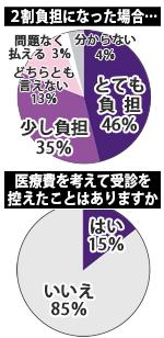 滋賀民主医療機関連合会アンケート結果グラフ